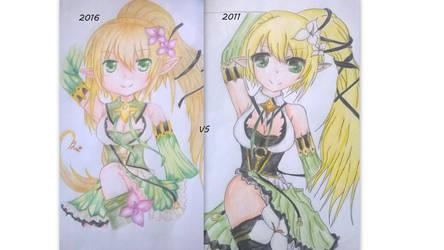 2016 vs 2011 by BrighterAngel