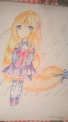 anime girl ^^ by BrighterAngel