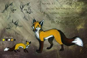 Character Sheet: D.J by CatBeast17