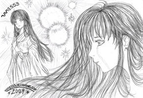 It's up to You Now Kagome by Vane553