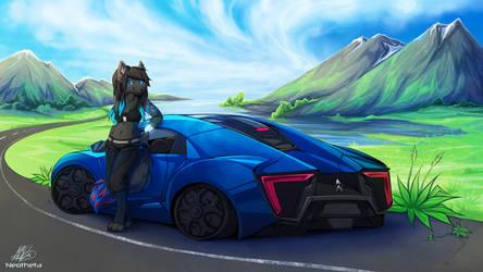 Mountain Drive by Neotheta