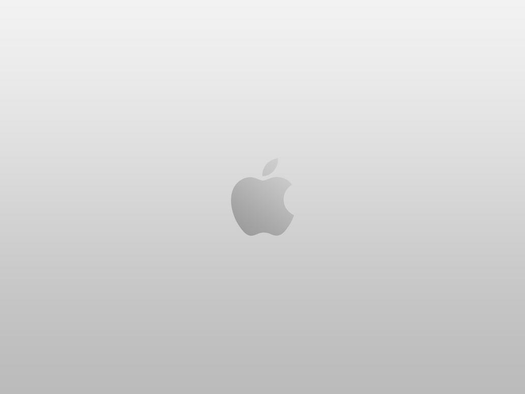 apple logo silver wallpapersuperquanganh on deviantart