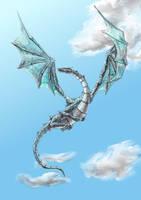 In Flight by Ambyrfire