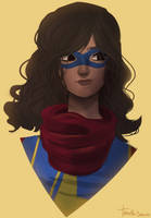 MS Marvel by Tanuuh