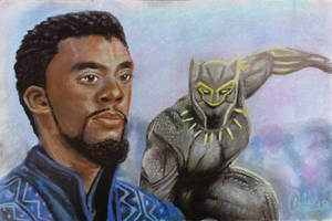 King T'Challa by Archetypical-G
