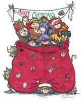 Merry Christmas! by Kiyomi-chan16
