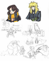 Labyrinth: Hogwarts AU by Kiyomi-chan16