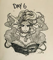 Inktober/OCtober: Day 6 by Kiyomi-chan16