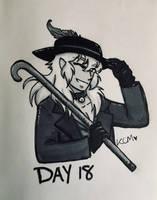 Inktober/OCtober: Day 18 by Kiyomi-chan16