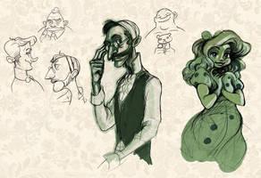 ghosties by cbernie