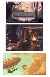 Environment Paintings by cbernie