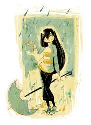 Raingirl by cbernie