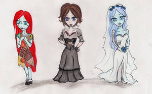 The Burton's Girls by keep-breathing