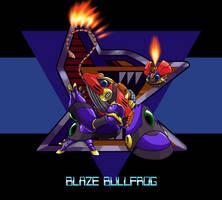 Blaze Bullfrog by MarxForever
