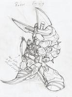 Razor Earwig/Shearwig (Rough Sketch) by MarxForever