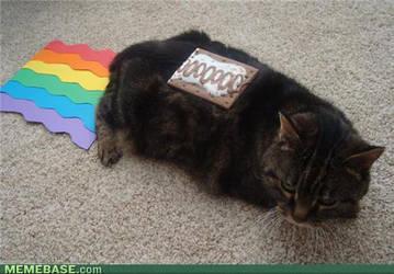 Nyan Cat by Invaderzim19