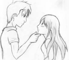 The Host: Jared and Wanderer by Kiiyoutsu
