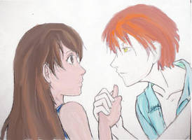 Hana's Edward and Bella by Kiiyoutsu