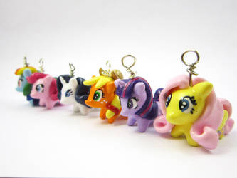 My Little Pony Friendship is Magic Mane six by TrenoNights