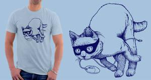 the Burglar Cat by tremorizer