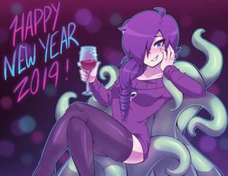 Happy New Year ZONE-tan! by Kaibuzetta