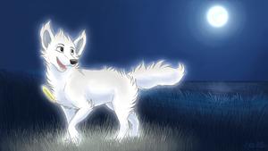 Goodnight moon by SpitfiresOnIce