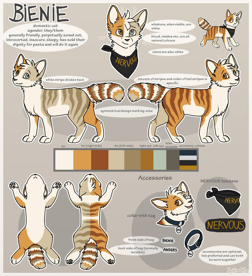 Bienie Reference Sheet 9 by SpitfiresOnIce