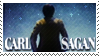 Carl Sagan Stamp by elavoria