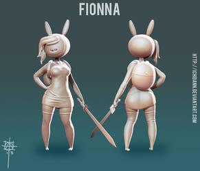 Fionna - WIP 4 by Ichidann