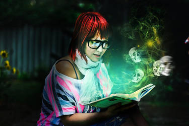 Magic Book by Dileyla