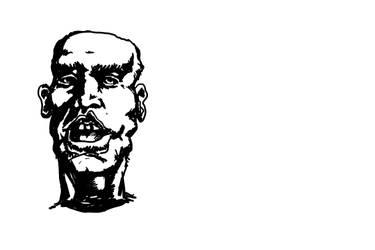 Face doodle/study by Garz2000