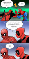 Snapped - SpideyPool - Pg 3 by LittleBlueGhostyBoo