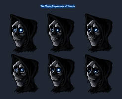 Expressions of a Skeleton by Not-Quite-Normal