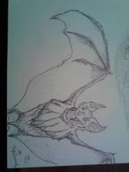 The Bat by theodoubleto