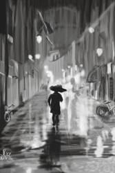 Rain (after Ferrara 1 by MisterKey) by jrice