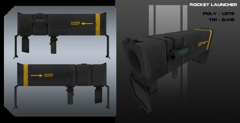 Rocket launcher by Steel123