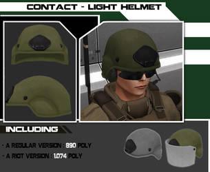 Light helmet by Steel123