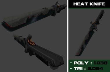 heat knife by Steel123
