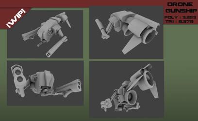 Drone Gunship [WIP] by Steel123