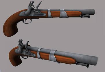 pirate pistol by Steel123