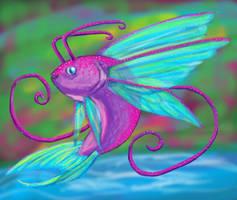 FAIRY FISH by KALMASIS