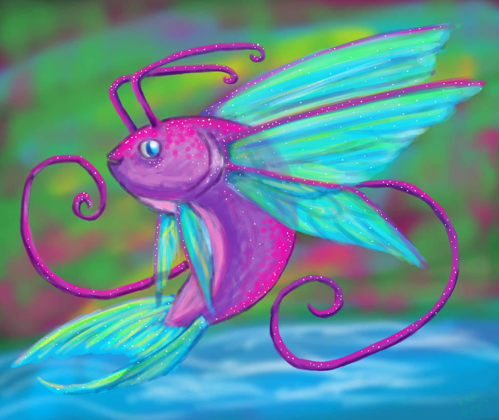 FAIRY FISH by KALMASIS