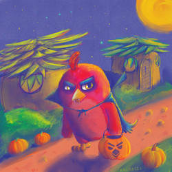 HALLOWEENBERD by KALMASIS