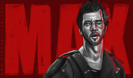 45 mins sketches - Mad Max by SabuDN