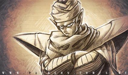 45 mins sketches - Piccolo by SabuDN