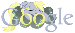 Derpy Hooves/Ditsy Doo Google Logo by ssumppg