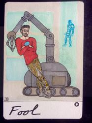 The Fool, tarot card 0 by naturegirlrocks