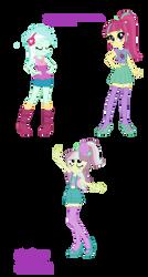 Lyra and Sour Sweet Fusion by NintendoPonyAddict