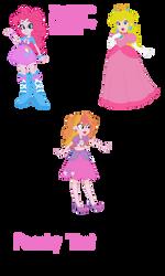 Gift-Pinkie Pie and Princess Peach fusion by NintendoPonyAddict