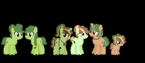 Teacake's Family by NintendoPonyAddict